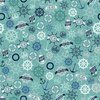 Riley Blake Designs Deep Blue Sea Anchors Teal