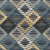 Michael Miller Fabrics Wild Thing Colorful Zigzag Blue