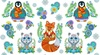 Wilmington Prints Arctic Wonderland Animals Panel White