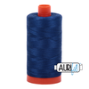 Aurifil Thread Dark Delft Blue