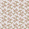 Studio E Fabrics Snow Place Like Home Tossed Berry Branches Gray