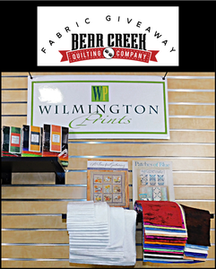 Bear Creek Quilting Company May Fabric Give-Away