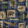 Windham Fabrics Lakehouse Plaid Blue