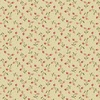 Andover Fabrics Bed of Roses Berry Bisque