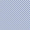 Clothworks Daisy Daisy Plaid Dark Periwinkle