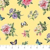 Northcott Botanica Small Floral Toss Yellow