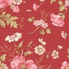 Andover Fabrics Sweet Sixteen Bouquet Red