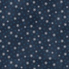 Henry Glass My Red Wagon Small Snowflakes Navy