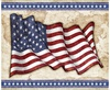 Quilting Treasures All American Flag Panel