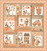 Squirrelly Girl Quilt Kit by Moda - PREORDER