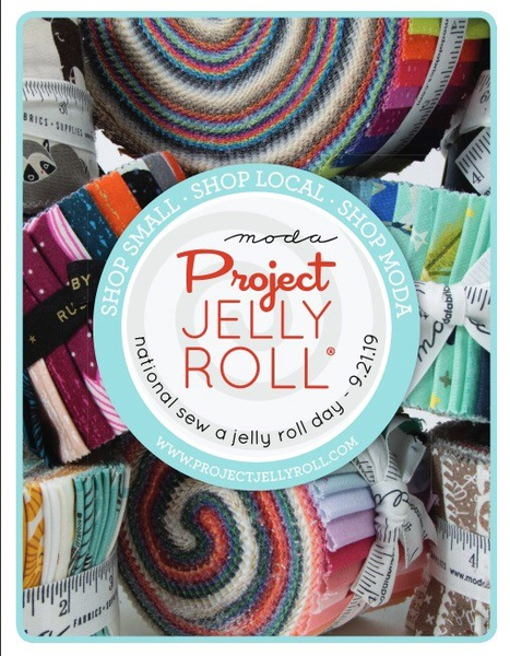 National Sew A Jelly Roll Day