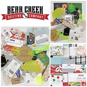 Bear Creek Quilting Company April Give-Away
