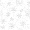 Maywood Studio Kimberbell Basics Snowflakes White on White