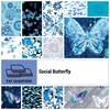 Social Butterfly Fat Quarter Bundle by Benartex