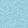 Andover Fabrics Top Drawer Tonal Flowers Baby Blue