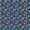 Wilmington Prints Roots of Love Small Floral Blue