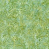 Wilmington Prints Batiks Palm Leaves Light Green