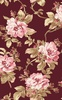 Maywood Studio Burgundy and Blush Roses Burgundy