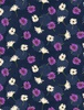 Wilmington Prints Floral Serenade Small Floral Navy