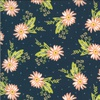Moda Happy Days Carnation Navy