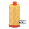 Aurifil Thread Pale Yellow