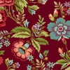 Henry Glass Fabrics Tarrytown Main Floral Red