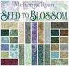 Seed To Blossom Batik Fat Quarter Bundle by Hoffman Fabrics