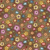 Michael Miller Fabrics Born To Sew Background Bouquet Brown