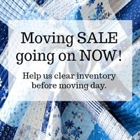 Moving Sale at Bear Creek Quilting Company