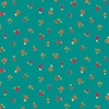 Andover Fabrics Bloom Floral Scatter Teal