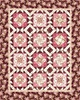 Burgundy and Blush Free Quilt Pattern