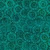 Wilmington Prints Batiks Parasols Teal