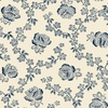 Windham Fabrics Abigail Blue Trellis Rose Cream