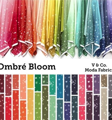 Ombre Bloom by Moda