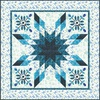 Touch the Sky - Snow Crystal Free Quilt Pattern