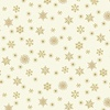 Andover Fabrics Twelve Days of Christmas Snowflake Cream