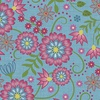 Maywood Studio Flower and Vine Blue