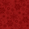 Henry Glass Woodland Haven Flannel Snowflakes Red