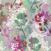 In the Beginning Fabrics Garden of Dreams Sprigs Teal/Pink Meadow