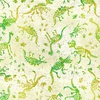 In The Beginning Fabrics Dinosaur Friends Fossils Green
