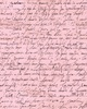 Quilting Treasures Sweet Caroline Calligraphy Pink