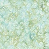 Hoffman Fabrics Seed To Blossom Batik Big Leaf Aquarius