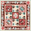 Cuppa Cocoa (White Chocolate) Free Quilt Pattern