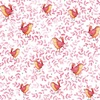 Quilting Treasures Love Grows Here Birds Light Red