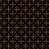 Henry Glass Count Your Blessings Foulard Hexes Black