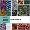 "Garden Delights III 10"" Square by In the Beginning Fabrics"