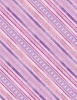 Wilmington Prints Humming Along Diamond Stripe Purple