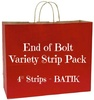 End of Bolt Variety Strip Pack - BATIK