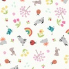 Lewis and Irene Fabrics Whatever The Weather (Spring) White