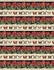 Wilmington Prints Harlequin Poppies Border